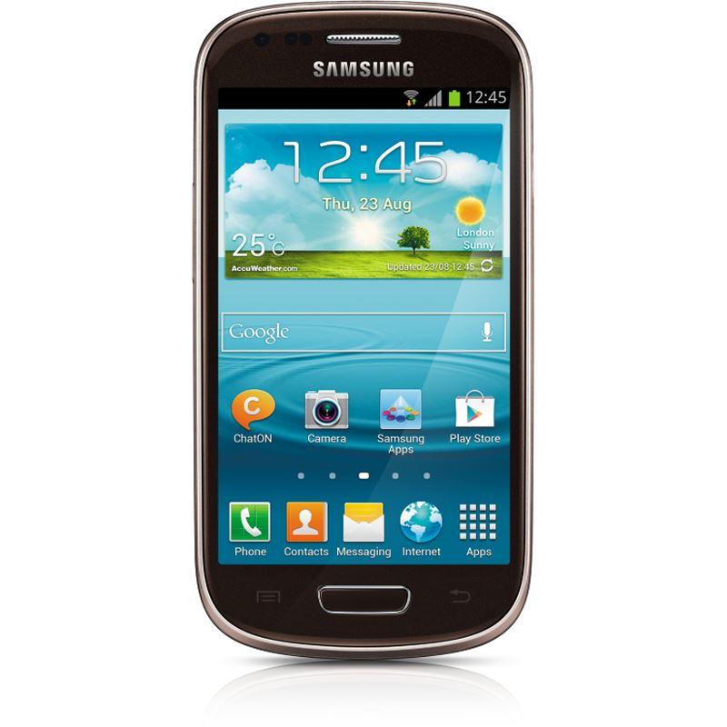 samsung galaxy s3 mini ve i8200 8 gb braun smartphones. Black Bedroom Furniture Sets. Home Design Ideas