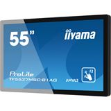 "55"" (139,70cm) iiyama ProLite TF5537MSC-B1AG Touch schwarz 1920x1080 1xDVI / 1xHDMI 1.3 / 1xVGA"