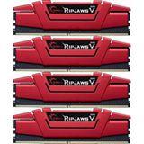 16GB G.Skill RipJaws V rot DDR4-2400 DIMM CL15 Quad Kit