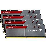 32GB G.Skill Trident Z silber/rot DDR4-3400 DIMM CL16 Quad Kit