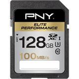 128 GB PNY Elite Performance SDXC Class 10 Retail