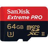 64 GB SanDisk Extreme microSDXC UHS-II Retail