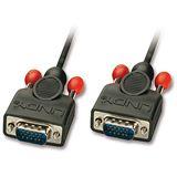 (€7,92*/1m) 1.00m Lindy VGA Anschlusskabel VGA 15pol Stecker auf VGA 15pol Stecker Schwarz doppelt geschirmt