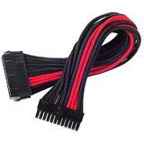 Silverstone ATX 24-Pin-Kabel, 300mm - schwarz/rot