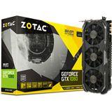 8GB ZOTAC GeForce GTX 1080 AMP! Extreme Edition Aktiv PCIe 3.0 x16 (Retail)
