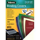 Fellowes Deckblatt Delta, Lederstruktur, DIN A3, elfenbein