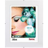 """Hama rahmenloser Bilderhalter """"Clip-Fix"""" 21.0x29.7cm für Bilder mit 15x21cm Normalglas"""