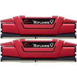 32GB G.Skill RipJaws V rot DDR4-2400 DIMM CL15 Dual Kit
