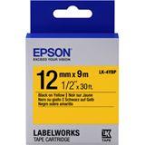Epson Beschriftungsband C53S654008 schwarz/gelb 12mm