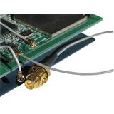 (€21,90*/1m) 0.50m Lindy BNC Anschlusskabel RP-SMA Stecker auf Mini HF Grau