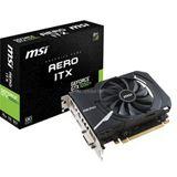 4GB MSI GeForce GTX 1050 Ti AERO ITX Aktiv PCIe 3.0 x16 (Retail)