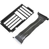 Lian Li O11-1 Riser Card Kabel + PCI-Slot-Blende schwarz