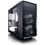 Fractal Design Focus Mini G mit Sichtfenster Mini Tower ohne Netzteil schwarz