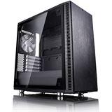 Fractal Design Define Mini C TG gedämmt mit Sichtfenster Mini Tower ohne Netzteil schwarz