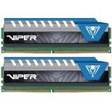 8GB Patriot Viper Elite blau DDR4-2666 DIMM CL16 Dual Kit