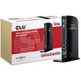 Club 3D SenseVision Dock Station - USB3.0 4K Dual Display Docking Station *schwarz*