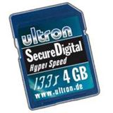 4GB Ultron Secure Digital Card 133x HYPER