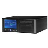 ATX Media Superpower HTPC Case 7 LCD TouchScreen schwarz (ohne Netzteil)