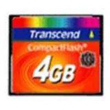 4 GB Transcend Compact Flash TypI 133x Retail