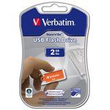 2GB Verbatim Micro Store n Go orange USB 2.0