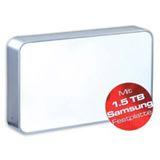 1500GB Ultron HDD extern SATA silber-weiß