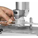 NEC NP01UCM Universal-Deckenhalterung Weiss-Silber
