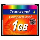 1 GB Transcend Standard Compact Flash TypI 133x Bulk