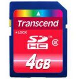 4 GB Transcend Standard SDHC Class 2 Retail
