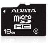8GB ADATA AUSDH8GCL2-R Secure Digital + SD-Adapter microSDHC Karte