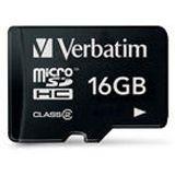 16GB Verbatim 44006 microSDHC Class 2 Karte