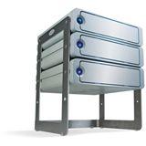 LaCie Desk Rack für 4 Lacie d2 Laufwerke (3660619189007)