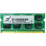 4GB G.Skill Value DDR3-1333 SO-DIMM CL9 Single