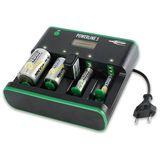 Ansmann Powerline 5 Zero Watt Technologie, LCD Ladegerät