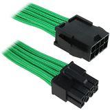 KAB BitFenix 8-Pin EPS12V Verlängerung 45cm - sleeved green/black