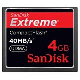 4 GB SanDisk Extreme Compact Flash TypI 233x Bulk