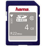 4 GB Hama High Speed SDHC Class 10 Bulk