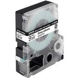 Epson C53S624406 Tape (extra stark klebend) 9mm - Schwarz auf Weiß