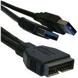 Cooltek USB 3.0 Adapterkabel intern auf extern