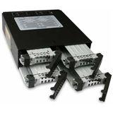 """Icy Dock ToughArmor 5.25"""" Wechselrahmen für 4x 2.5"""" Festplatten (MB994SP-4SB-1)"""