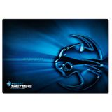 Roccat Sense Chrome Blue 400 mm x 280 mm schwarz/blau