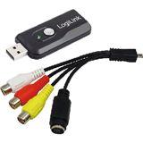 LogiLink Audio und Video Grabber mit Snapshot USB 2.0