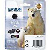 Epson Tinte C13T26014010 schwarz