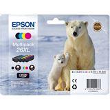 Epson Tinte C13T26364010 schwarz, cyan, magenta, gelb