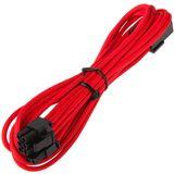BitFenix 45cm rot/schwarze Verlängerung für PCIe (BFA-MSC-62PEG45RK-RP)
