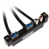 Lian Li 2x USB 3.0 + Audio I/O-Panel für Lian Li Gehäuse (PW-IN20AV65AT0)