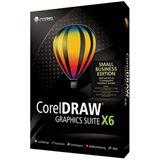 Corel CorelDraw Graphics Suite X6 - Small Business Edition 32/64 Bit Deutsch Grafik FPP PC (DVD)