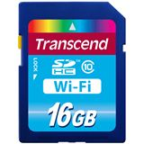 16 GB Transcend Wi-Fi SD Card SDHC Class 10 Retail