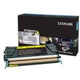 Lexmark corporate Toner X748 gelb