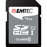 4 GB EMTEC 150x SDHC Class 10 Retail