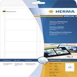Herma 4906 Universal-Etiketten 6.35x3.81 cm (25 Blatt (300 Etiketten))